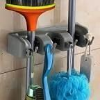 quality Mop and Broom Holder Wall Mounted Garden Tool Storage Tool Rack  broomBetter quality Mop and Broom Holder Wall Mounted Garden Tool Storage Tool Rack  broom Flip T...