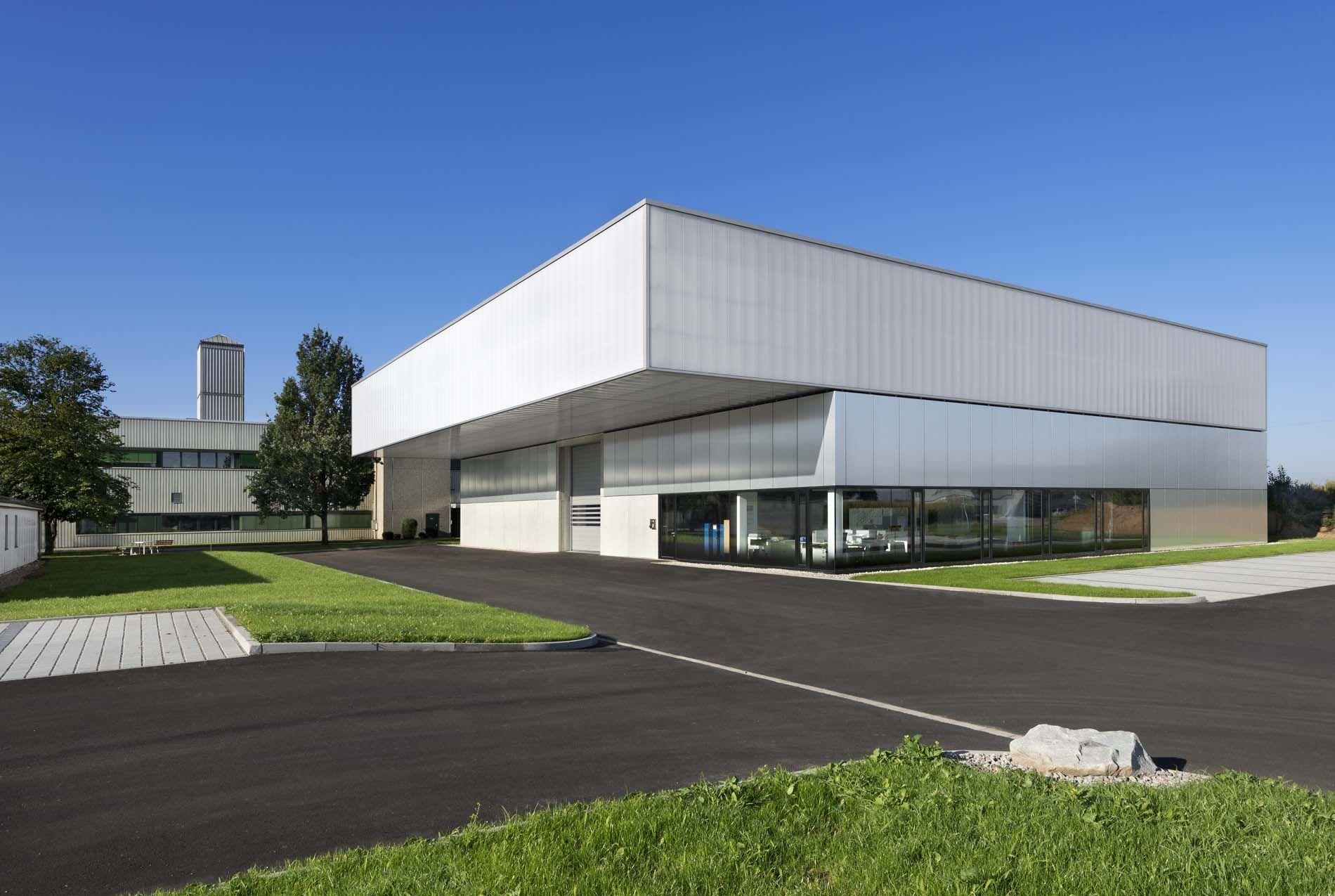 2012 montage- und lagerhalle müllheim: wurm + wurm - architekten und ingenieure