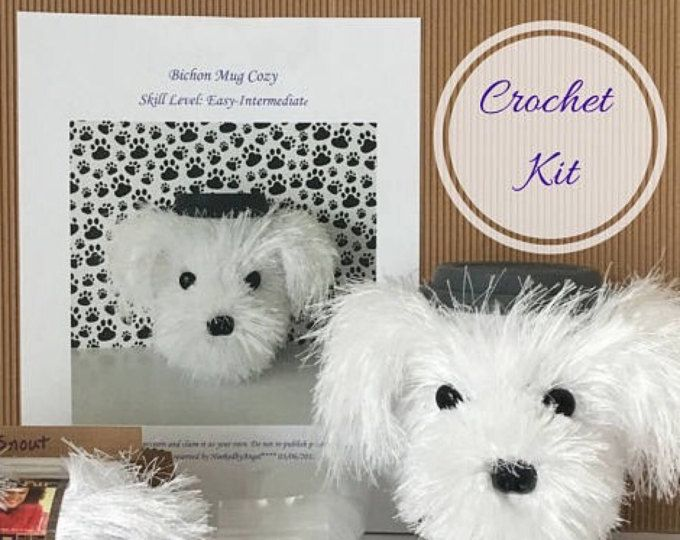 Stitch Puppy Crochet Kit by Wool Couture | 540x680