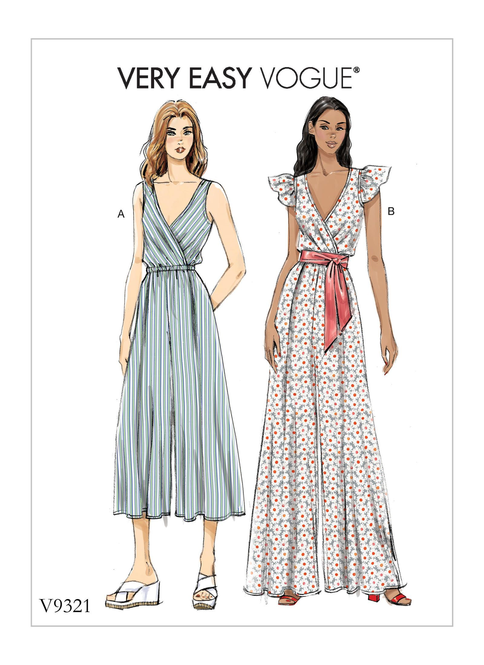 V9321 | Vogue Patterns | Sewing Patterns | Knitting and sewing ...