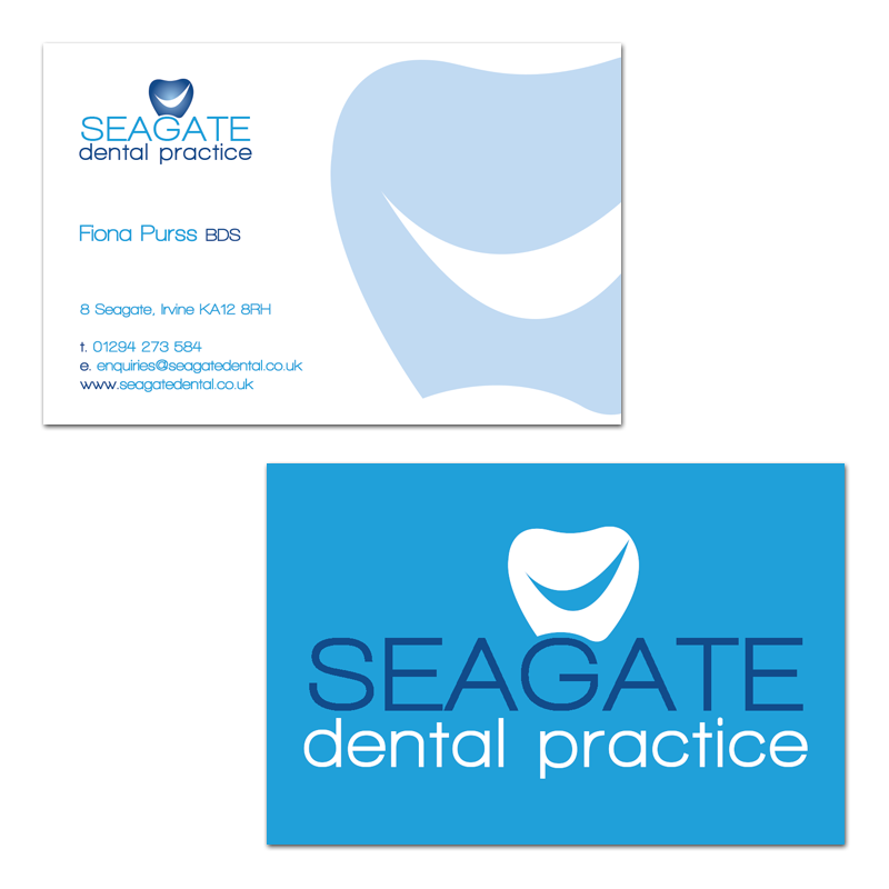 Business card design for seagate dental practice in irvine dental business card design for seagate dental practice in irvine colourmoves