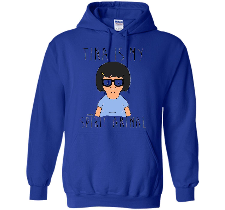 Bobs Burgers Tina Is My Spirit Animal Cool Shirt Shirts Cool