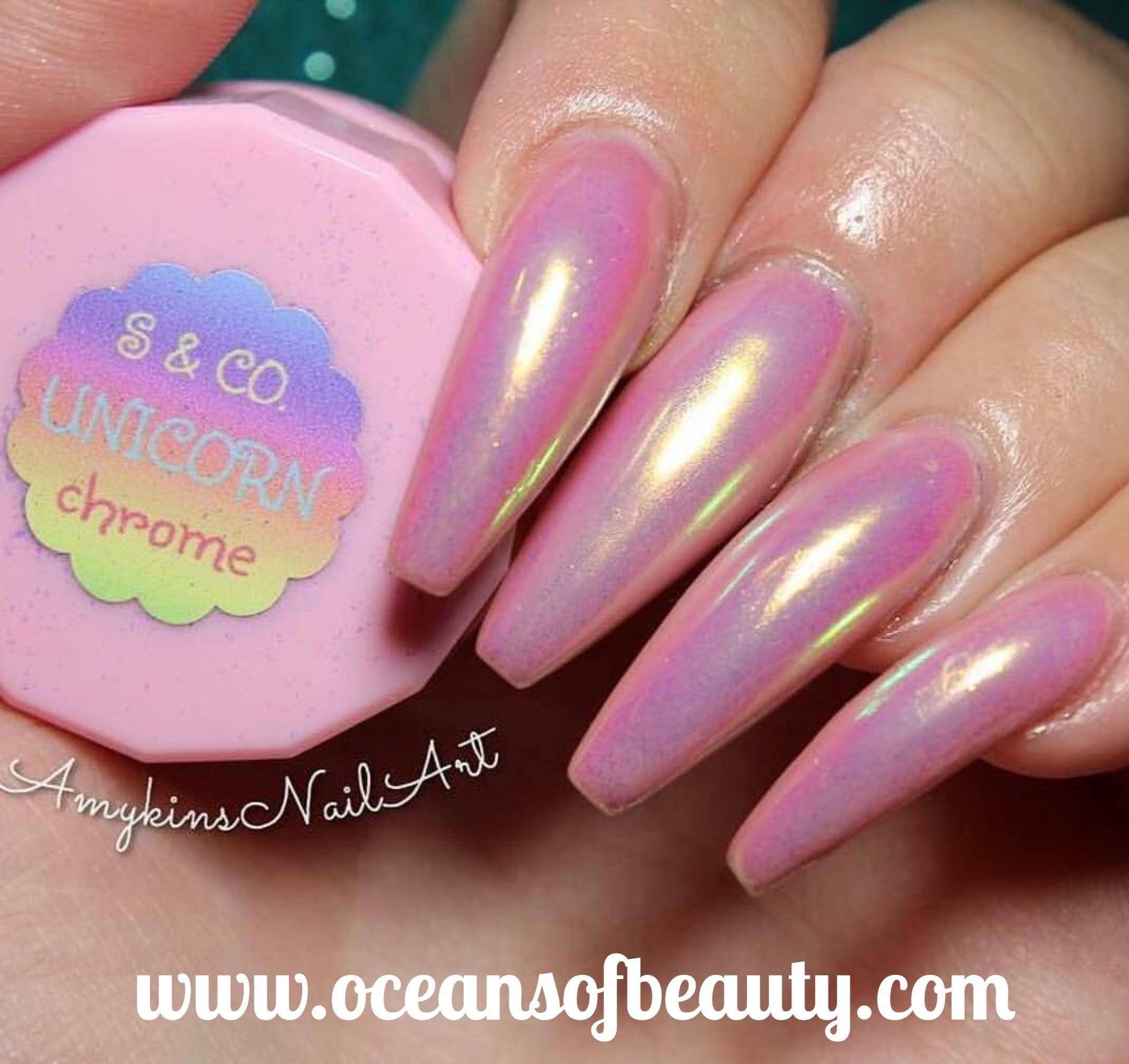 Unicorn Chrome Powder from sparkleandco.com Salon Quality done right ...