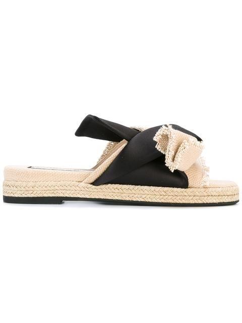 Shop Nº21 knot detail sandals.