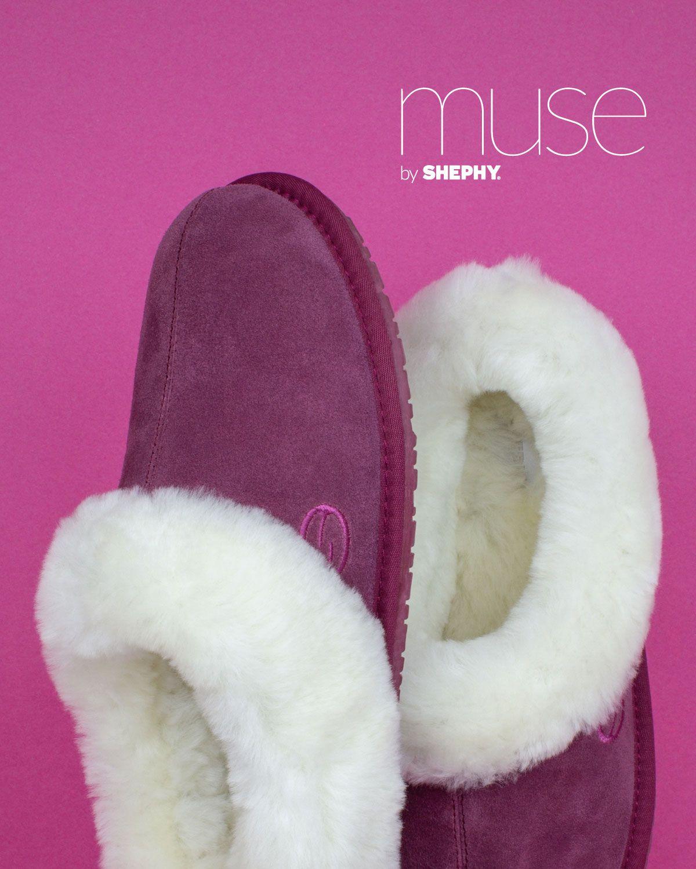 Sheepskin slippers, Sheepskin, Slippers