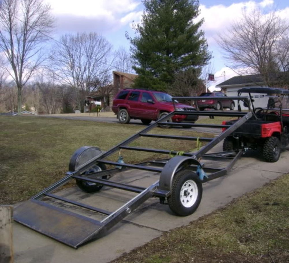 Pin by Richardbooth on Flatbed in 2019 Tilt trailer