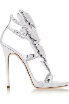 Giuseppe Zanotti Embellished patent-leather sandals | NET-A-PORTER