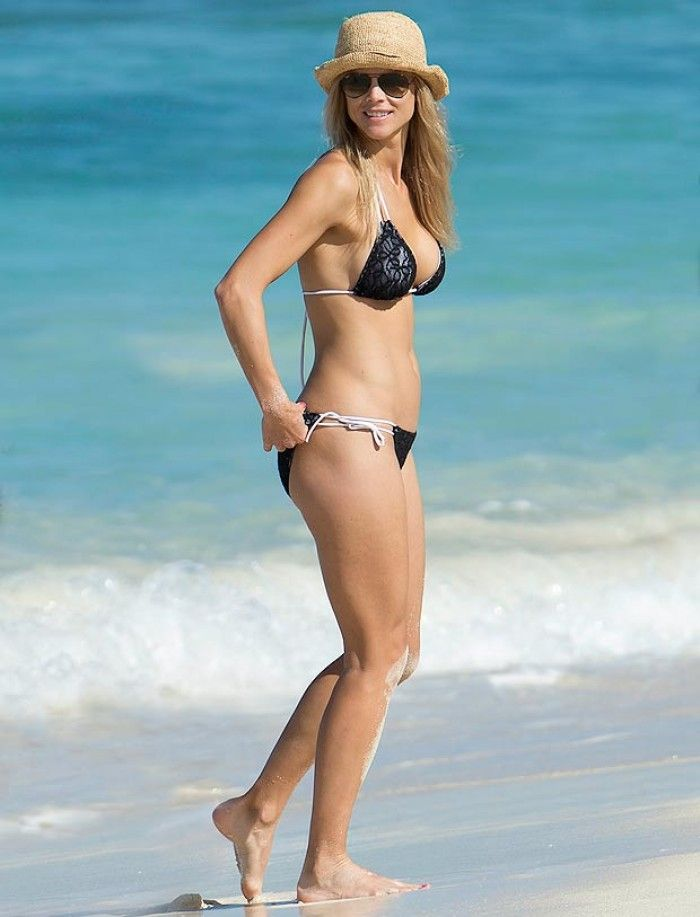 Designer of elin nordegren white bikini photo 797