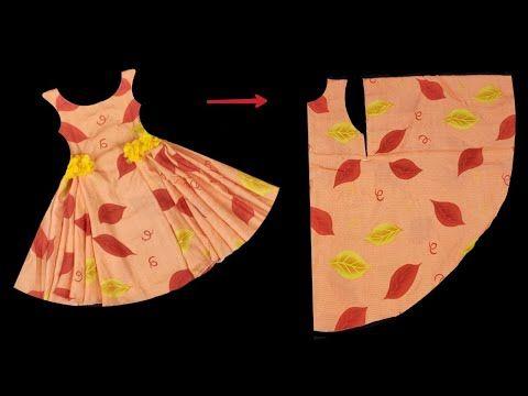 أسهل واحدث خياطة فستان بفكرة جديدة/ أسهل واحدث خيا