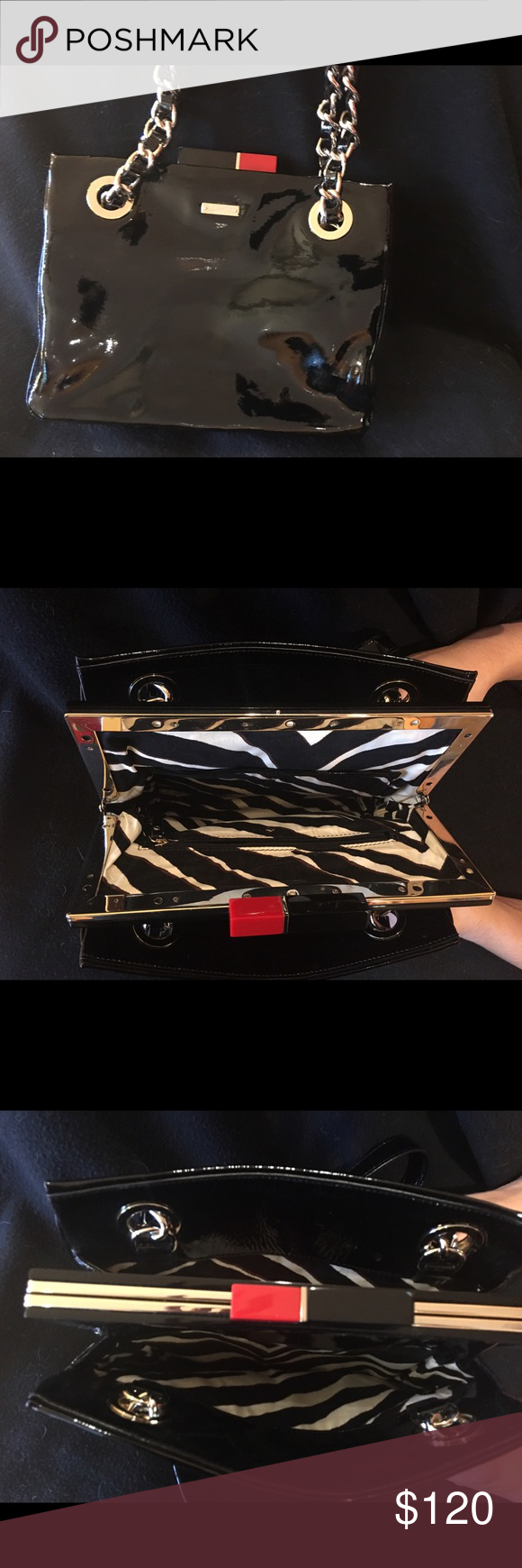 Kate spade Patent leather Kate spade purse excellent condition kate spade Bags Satchels