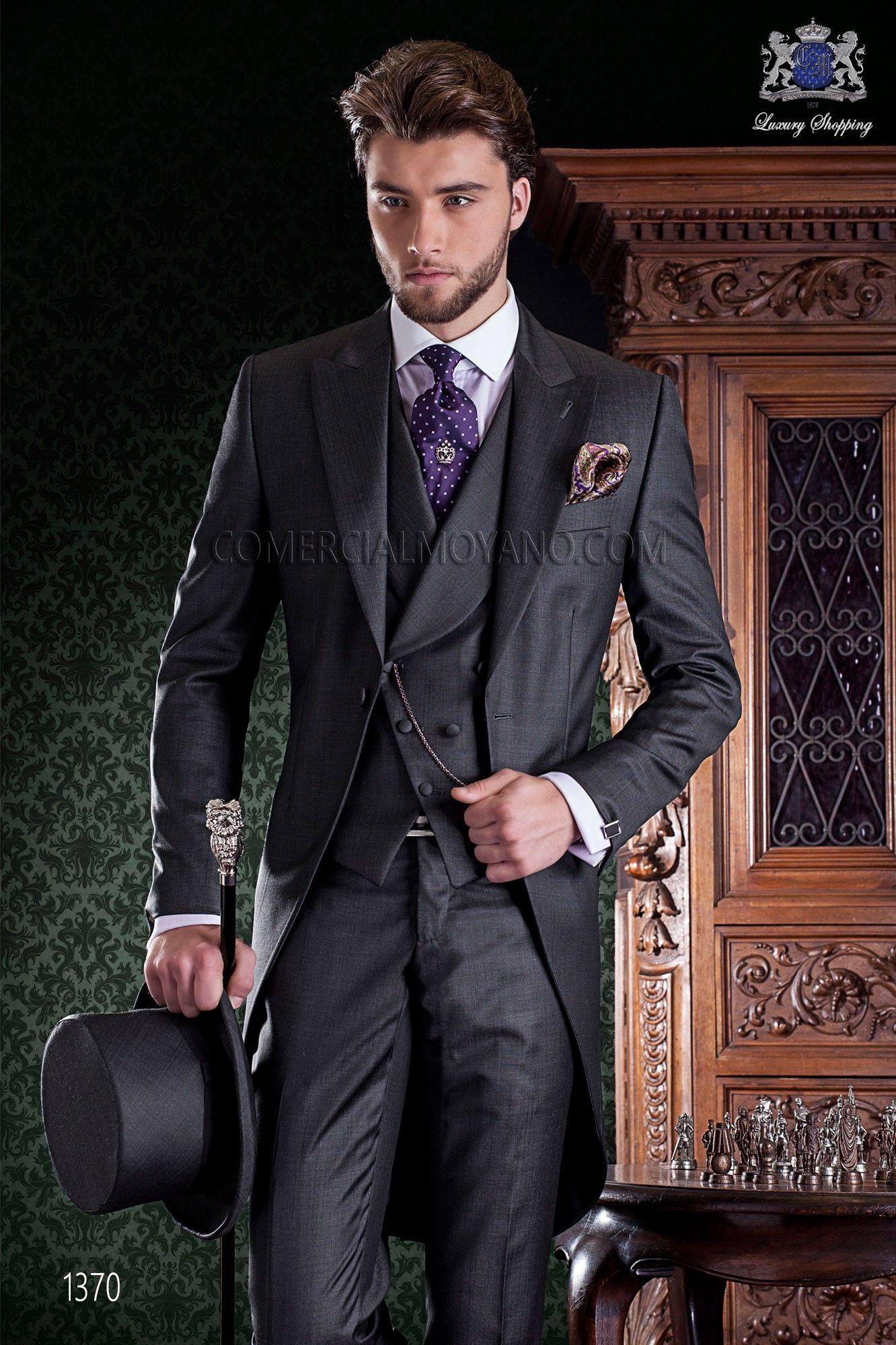 Redingote élégant tailleur italien cut