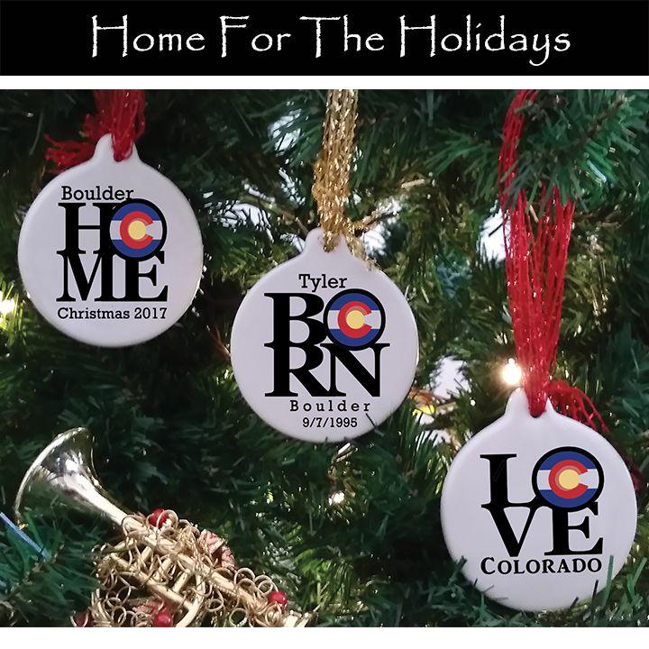 Colorado Custom Ornaments homebornlove Custom ornament