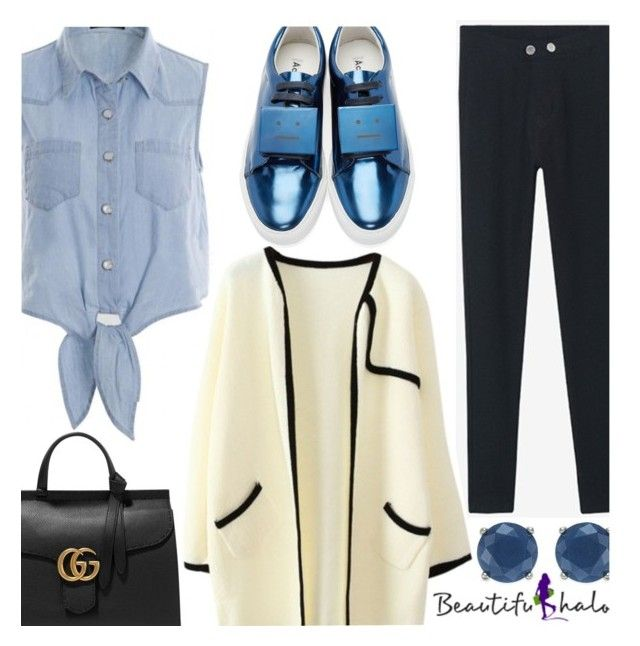 """""""Beautifulhalo"""" by enola-pycroft ❤ liked on Polyvore featuring Gucci, Charter Club, Acne Studios and beautifulhalo"""