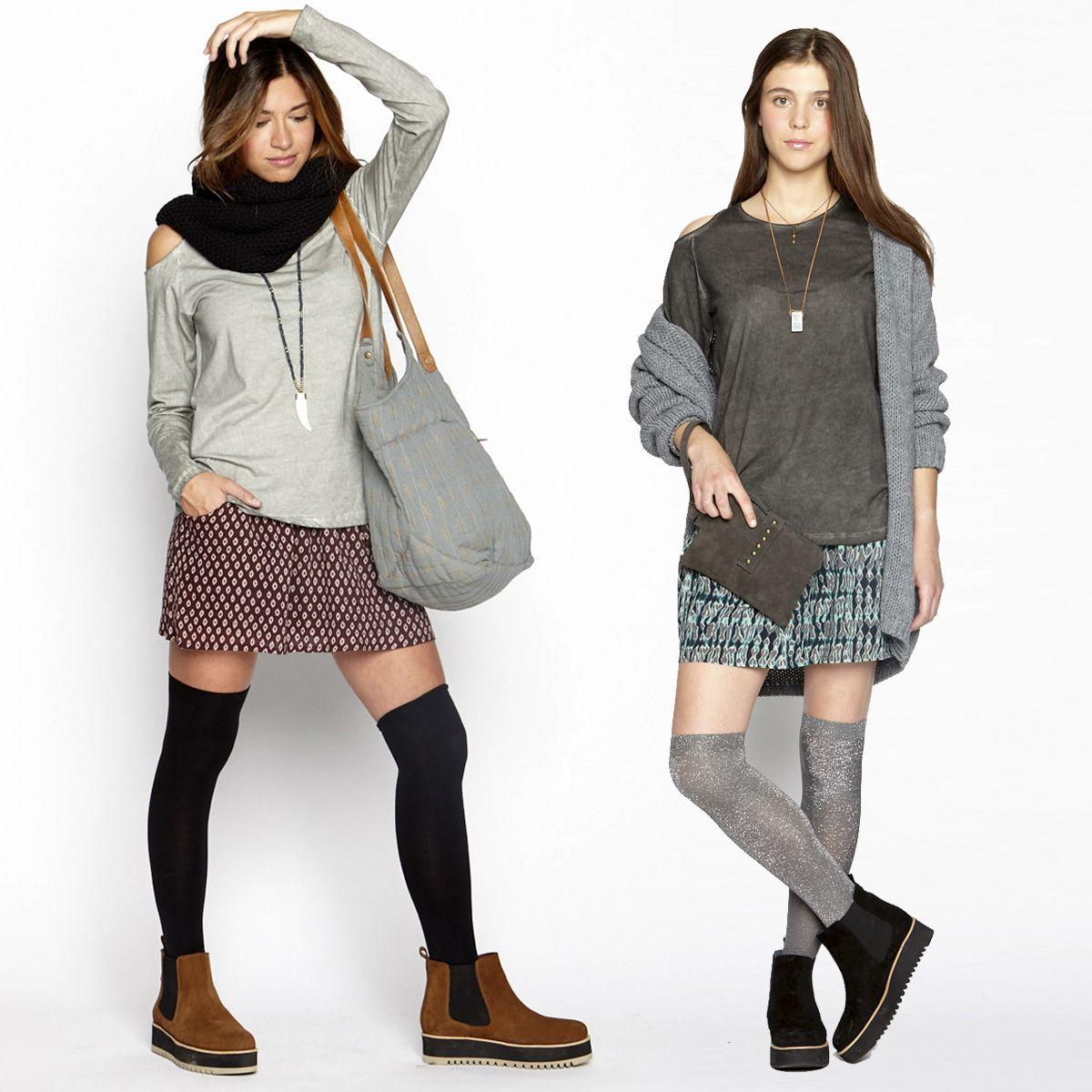 looks mini jupe tendances pour ado et jeunes filles branch es automne hiver 2016 pinterest. Black Bedroom Furniture Sets. Home Design Ideas