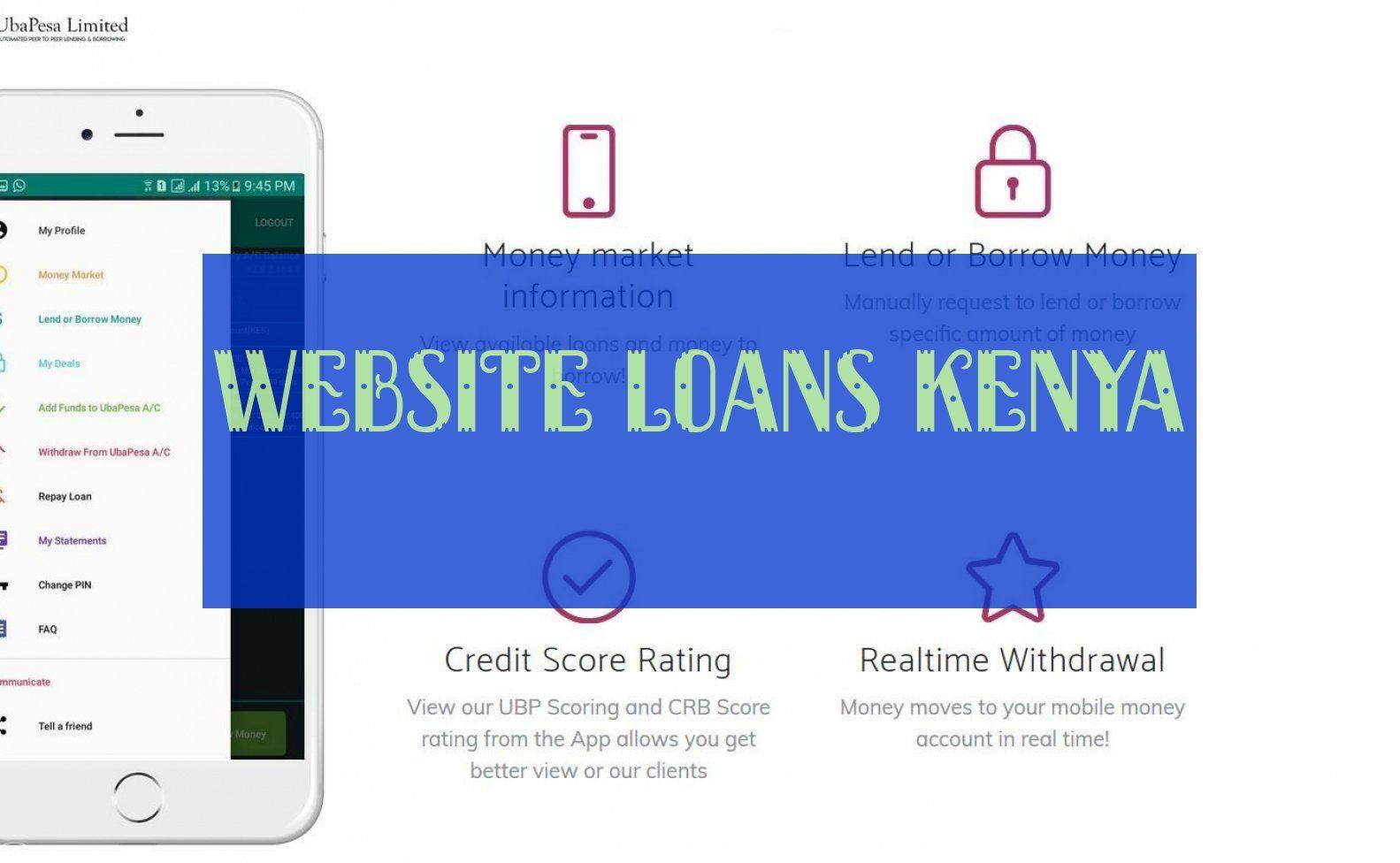 Website Darlehen Kenia Borrow Money Credit Score Rating Credit