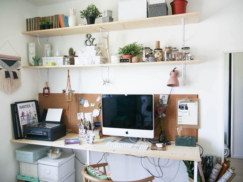 Mon bureau fait maison #diy #bureau my home #armellehøme en