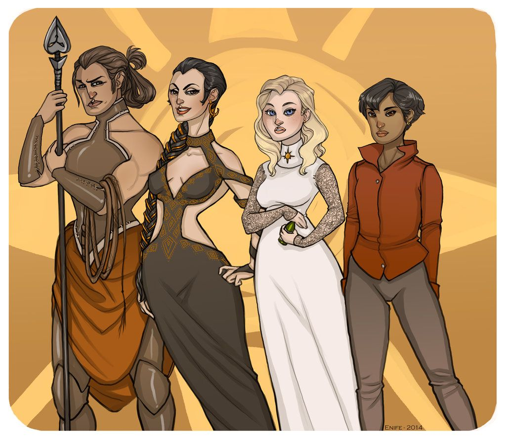 Sand Snakes by on deviantART A