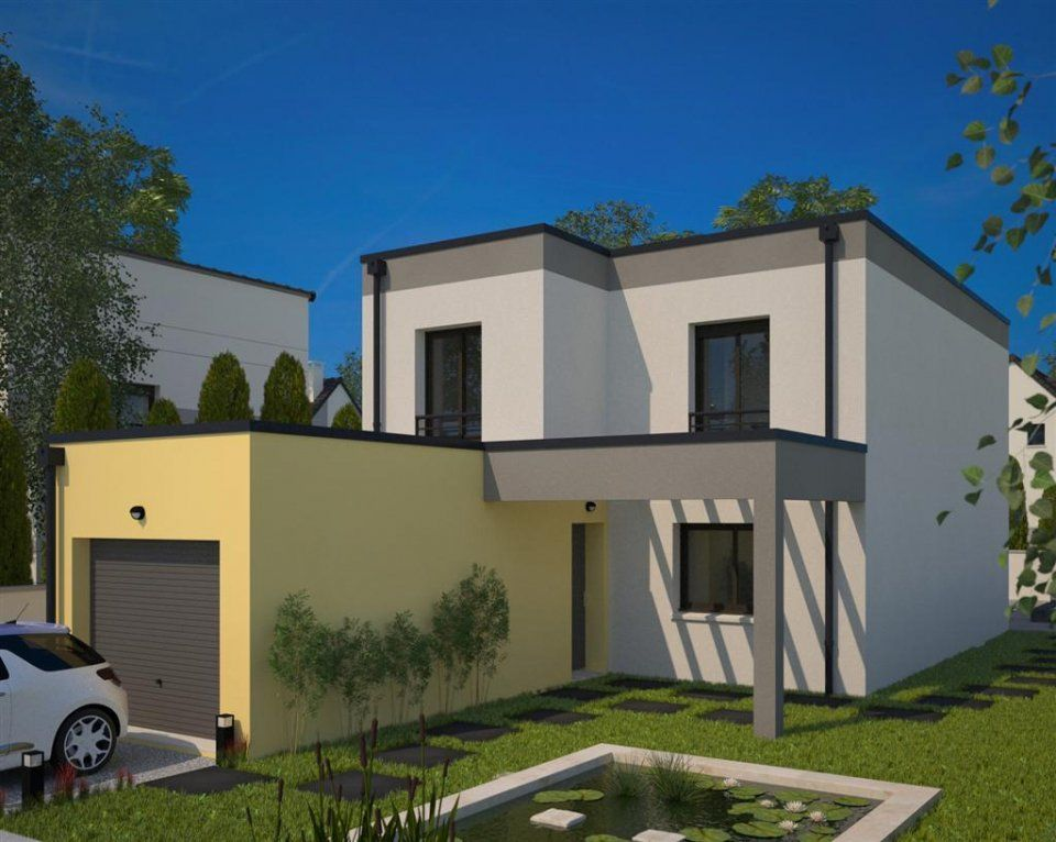 Plan maison neuve construire maisons france confort for Construire maison 94