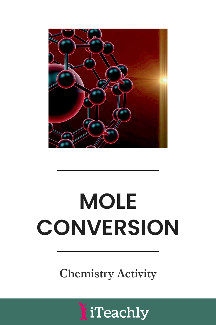 Mole Conversions Chemistry Lab in 2020