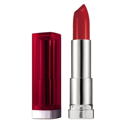 Ruj Maybelline Bordo Kırmızı Red Darkred Lipstick Makyaj