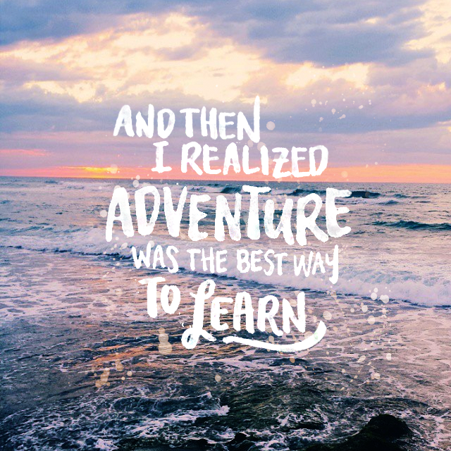Fish Motivational Quotes: Travel Quotes, Inspirational Travel Quotes, Hand Lettering