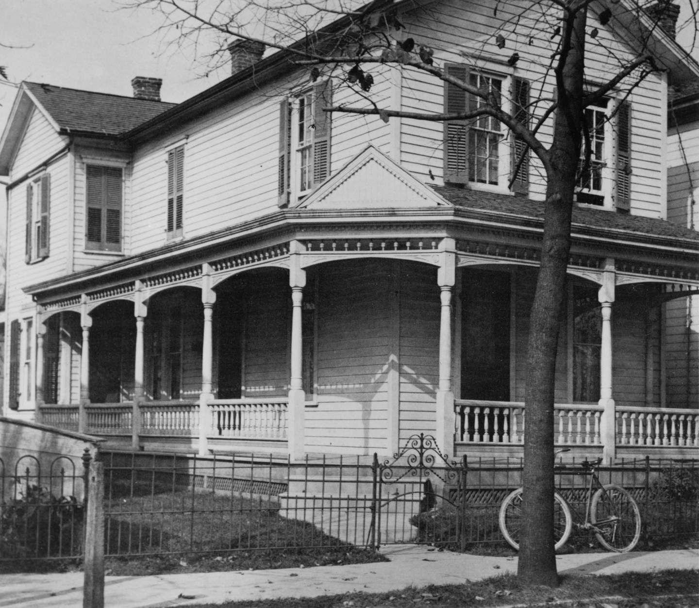 The Wright family home at 7 Hawthorne Street, Dayton, Ohio