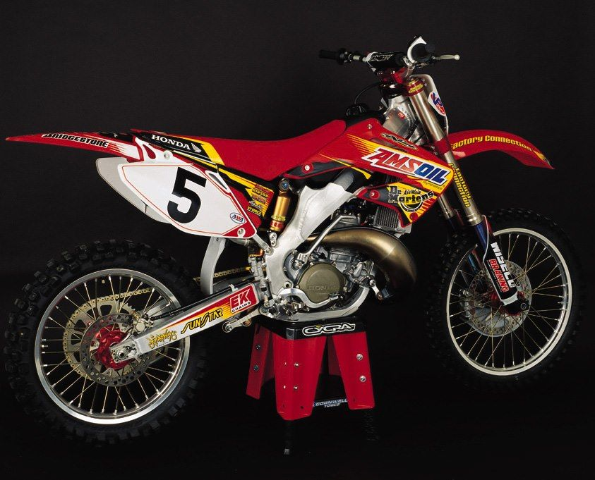 Mike LaRocco's 02 Factory Connection Amsoil Honda CR 250