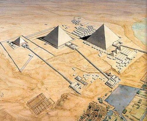 Legendärer Aufweg zur Cheopspyramide entdeckt http://grenzwissenschaft-aktuell.blogspot.de/2015/01/legendarer-aufweg-zur-cheopspyramide.html  . . . Abb.: anselm.edu (Quelle)
