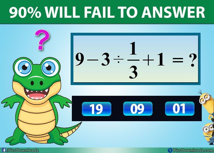 Ok! Try to solve this simple, but confusing Math Puzzle – Genius ...