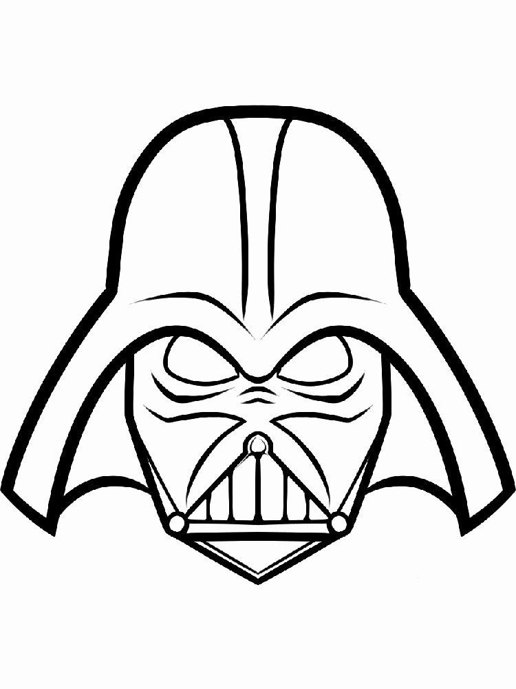 Darth Vader Coloring Sheet Fresh Darth Vader Coloring Pages Free Printable Darth Vader In 2020 Star Wars Printables Star Wars Prints Star Wars Gifts