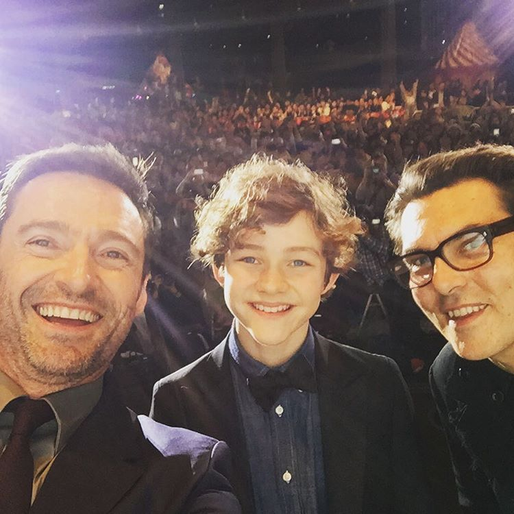 「 Thank you Tokyo for a sensational premiere of #panmovie!! And happy birthday Levi Miller!! #Neverland #Discover 」