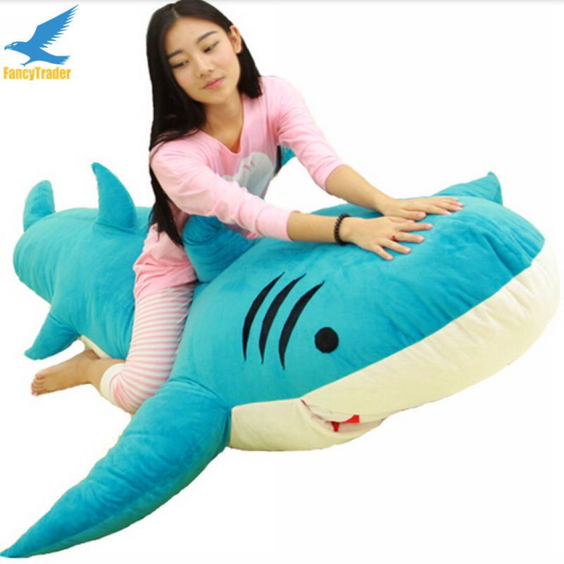 Fancytrader Huge Giant Shark Sleeping Bag Beanbag Sofa Bed Carpet