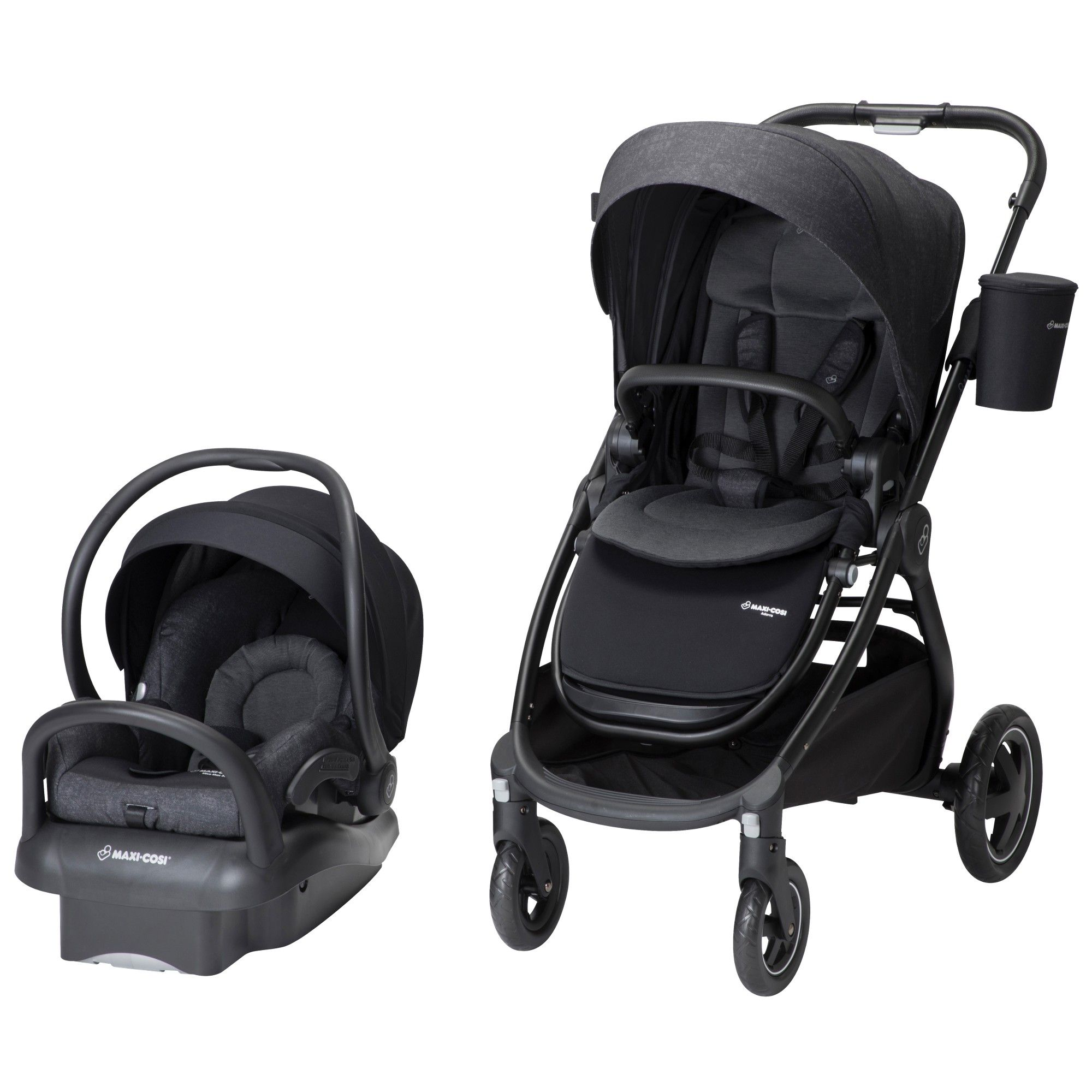 MaxiCosi Adorra 2.0 Travel System Nomad Black Travel