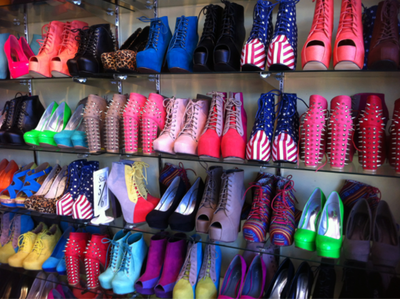 Eat Your Heart Out Imelda Marcos This Cupboard Full Of Shoes - Teenage tumblr fashion