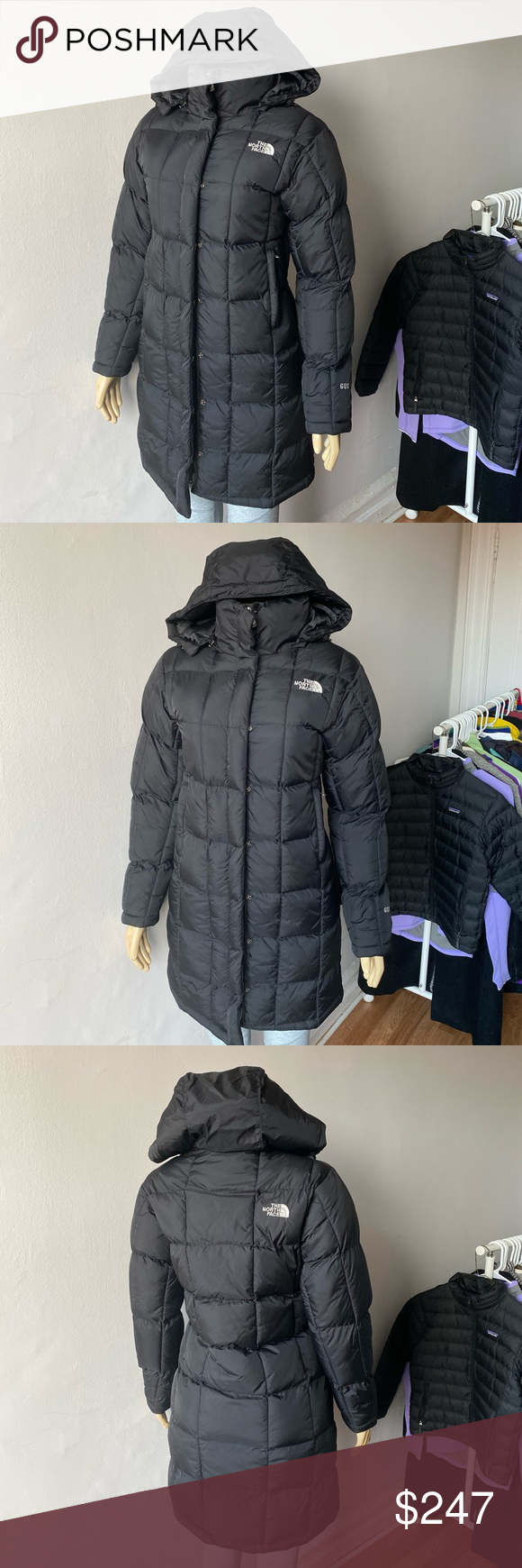 The North Face 600 Long Goose Down Jacket Black Down Jacket Black North Face North Face Jacket [ 1740 x 580 Pixel ]