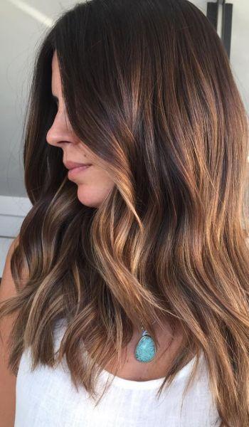 Luzes em cabelos escuros: 20 fotos do Instagram de diferentes tons de mechas para se inspirar #cabelos