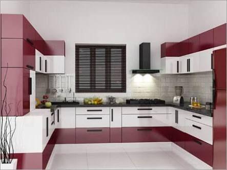 Image Result For L Shaped Modular Kitchen Designs Catalogue - Modular Kitchen U Shaped Design