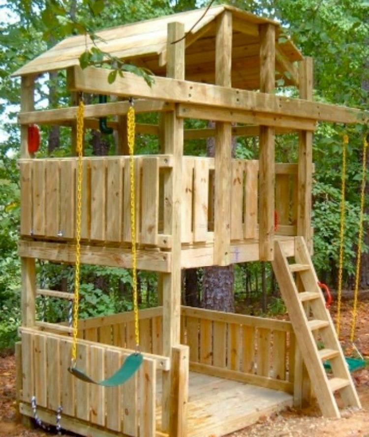 20++ Backyard fort designs info