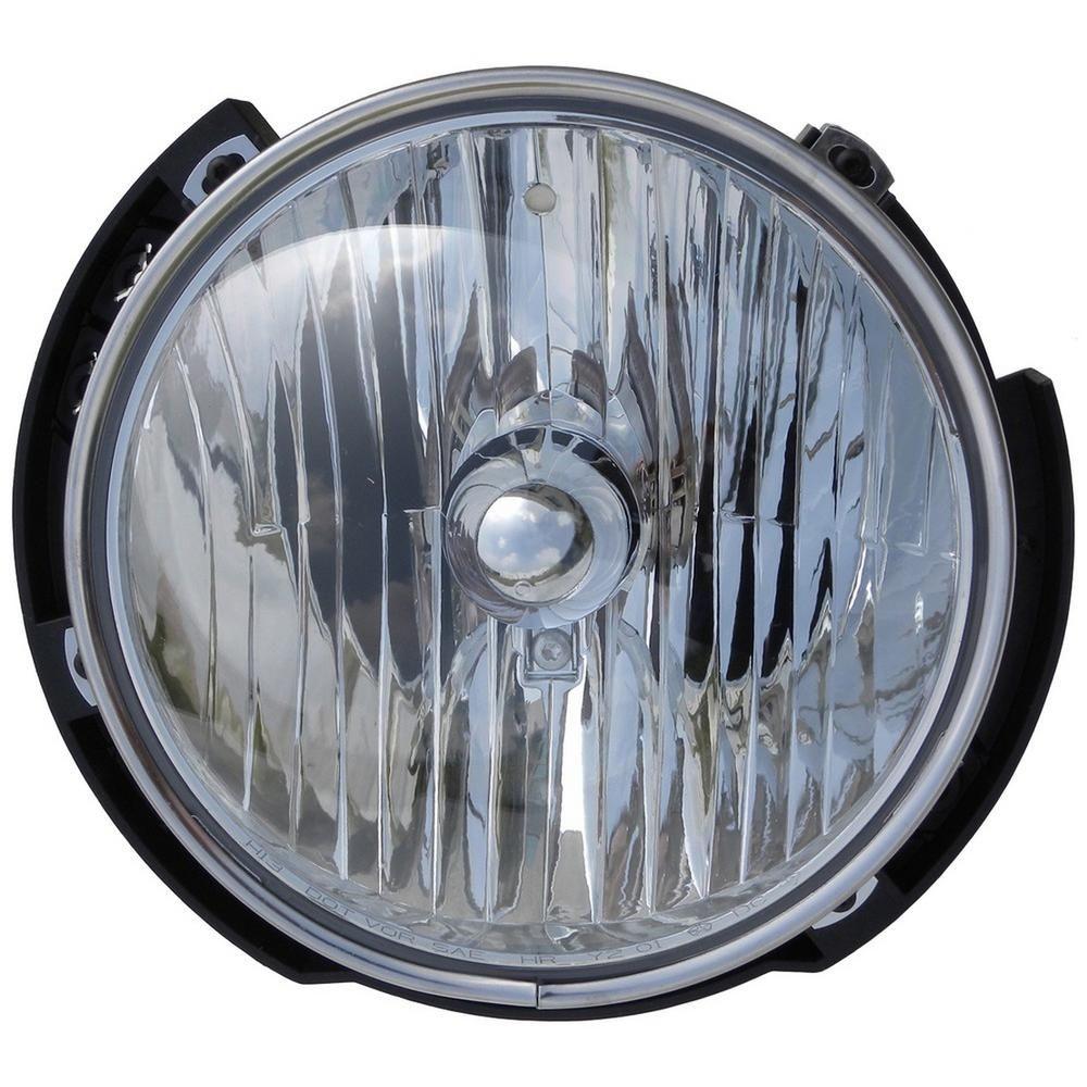 Dorman Head Lamp Right 20072010 Jeep Wrangler Headlight