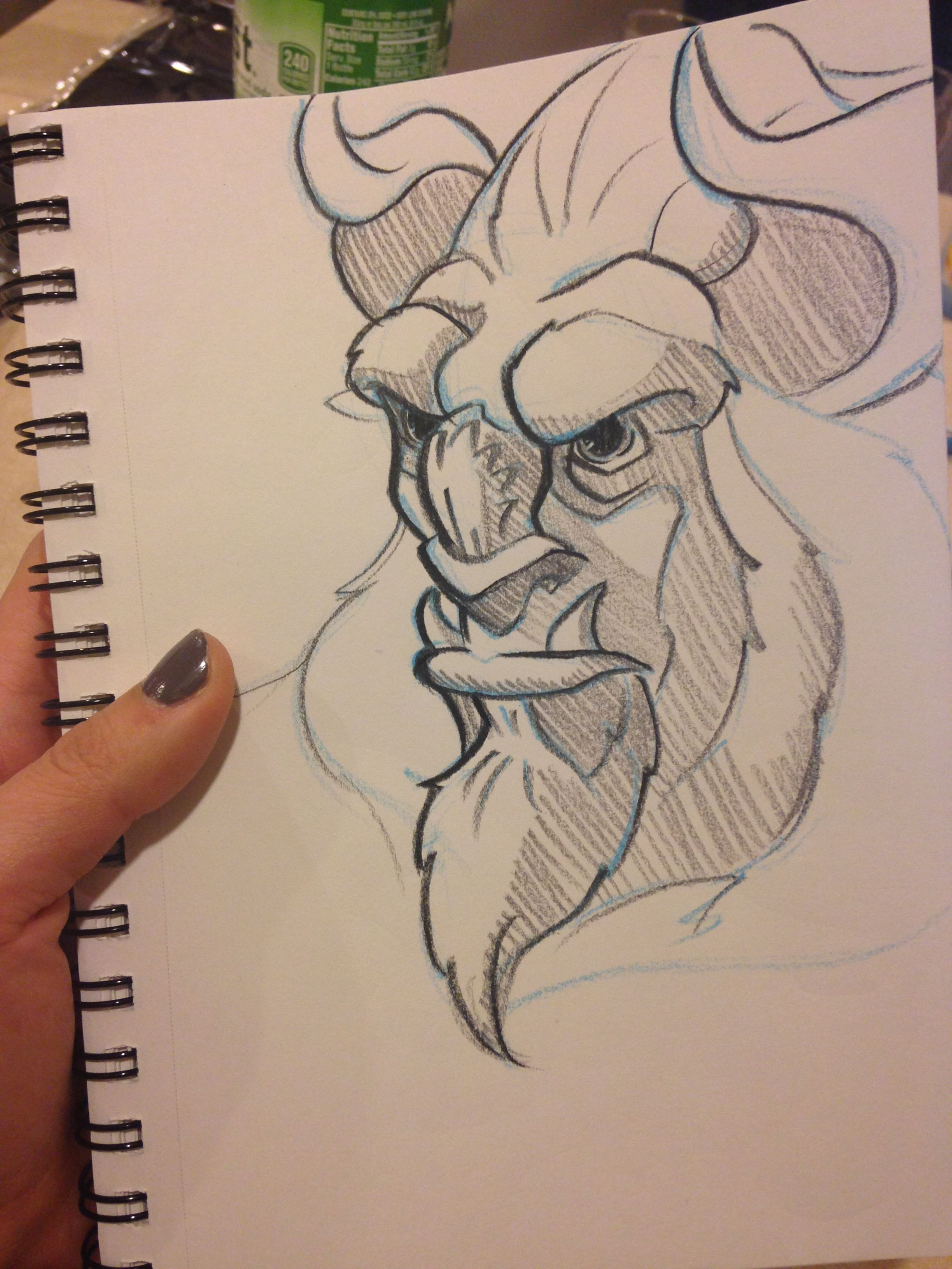 Beauty And The Beast Sketch Beauty And The Beast Drawing