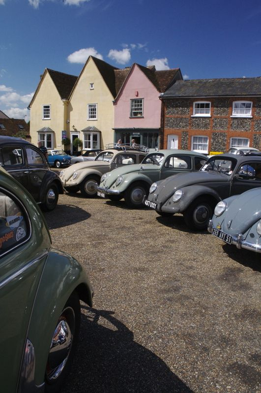 #VW vintage show