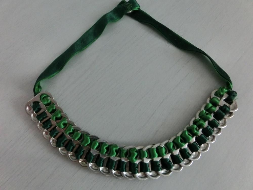 Quieres hacer collares originales con material reciclado? Te traemos ...