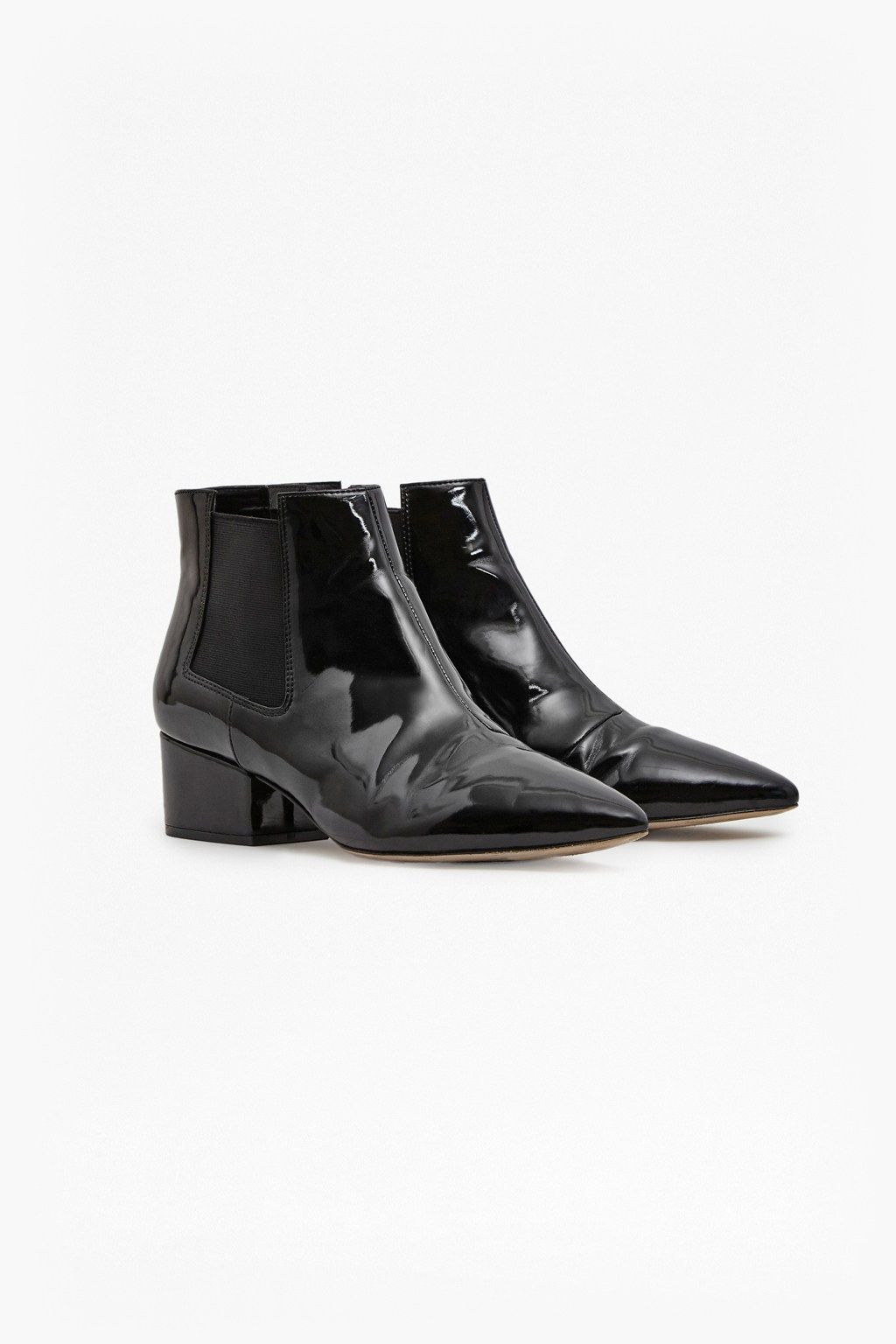 4fc61104d0f Ronan Patent Ankle Boots   Collections   French Connection   Shoes ...