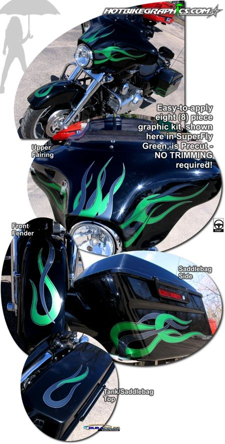 Harley Davidson Street Glide Motorcycle Specific Graphic