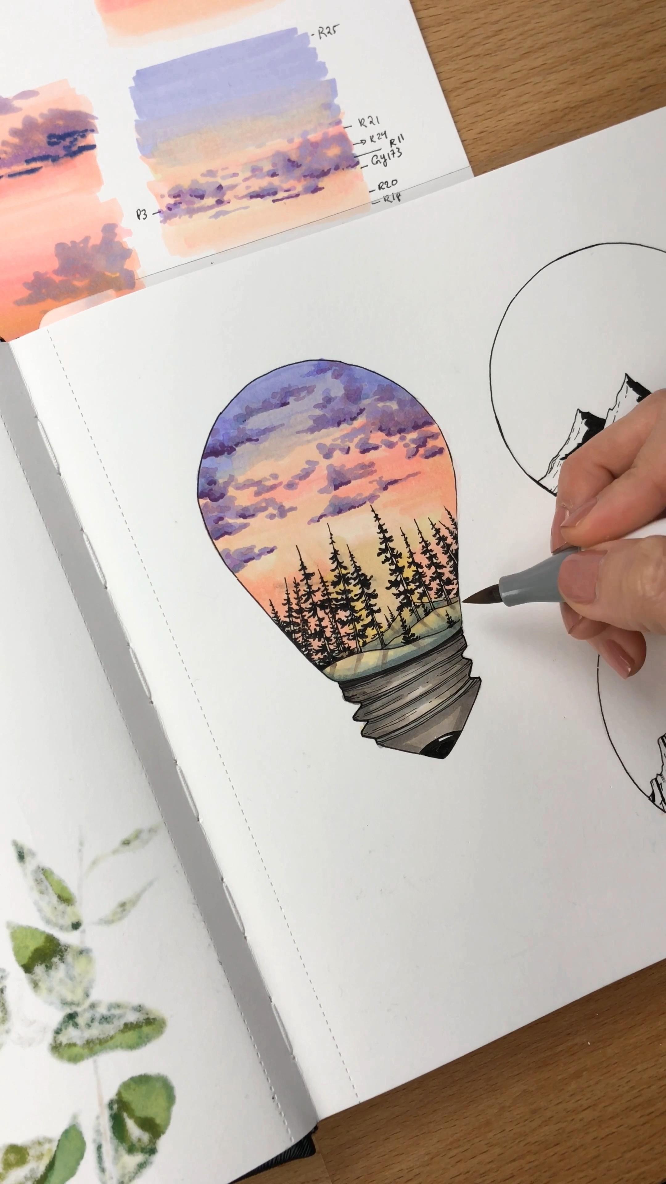 Marker Illustration Video