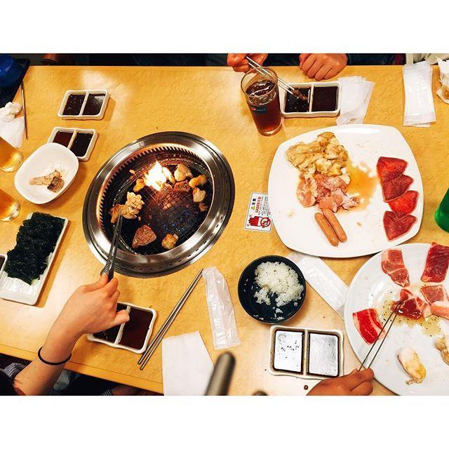肉肉✨ #美味しかった#肉#焼肉#1の2クラス会#1の2#instafood #instagood #like4like #food #yummy #sogood #meat #pic#photo