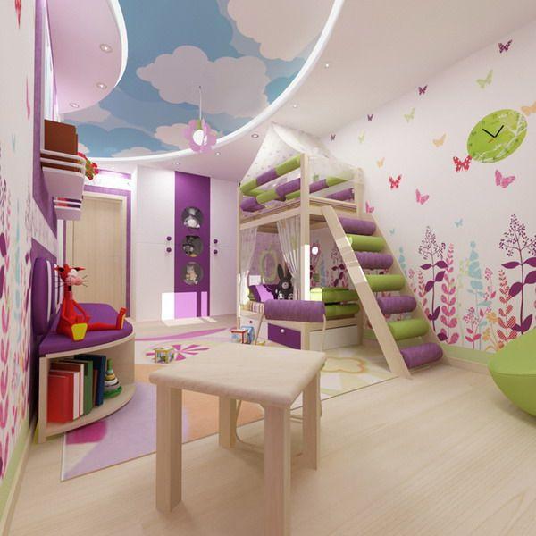 Bright Interiors Children S Rooms Designs 2 Jpg 600