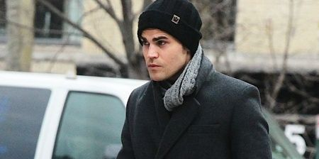 Paul Wesley out and about en Soho, New York