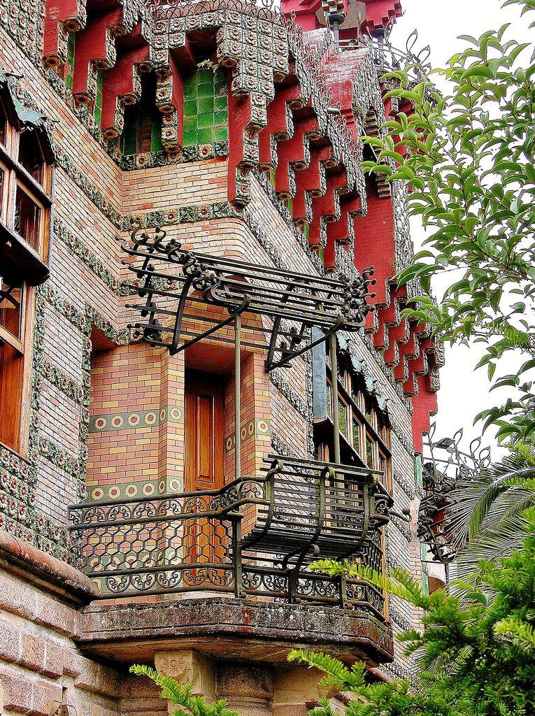 27 Comillas. El Capricho 00541 | Gaudi architecture, Gaudi ...