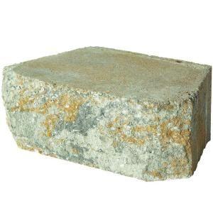 Pavestone 12 In Yukon Concrete Wall Block 81150 At The